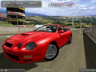 VDrift Screenshot