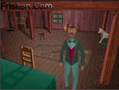 Alone in the Dark 1 Pc Screenshot