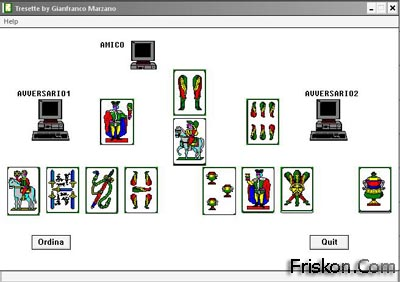 Gioco Carte Tressette Screenshot