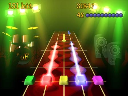 Frets on Fire Guitar Hero Screenshot