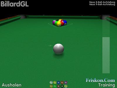 BillardGL Biliardo 3D Screenshot