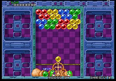 Taito Puzzle Bobble Screenshot