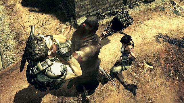 Resident evil 5 Screenshot 3 Boss