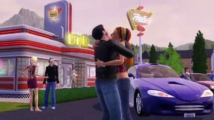 The Sims 3 Screenshot - Bacio