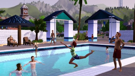Screenshot The Sims 3 - Piscina