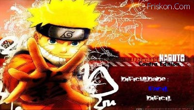 Naruto per PSP Screenshot