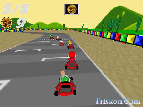 Super Mario Kart Pc Screenshot