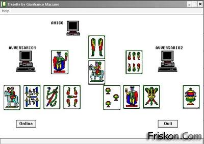 Gioco Carte Tressette Screenshot