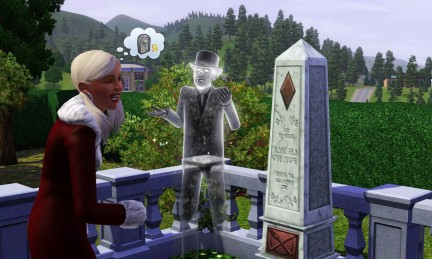 Screenshot The Sims 3 - Fantasma